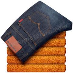 拓吉凯 内绒牛仔裤 N009 颜色:蓝色  件
