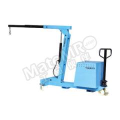 泰得力 半电动平衡重式单臂吊 TSB550E 吊臂长度范围:960~2100mm 高度范围:2100~2900mm  个
