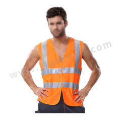 安大叔 标准款高警示反光马甲 80102(A004) 颜色:荧光橙  件
