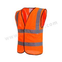 星华 高亮达标款反光背心(魔术贴款) 120058M-2 颜色:荧光橙  件