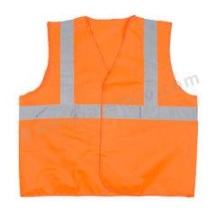 代尔塔 GILP4两竖一横反光背心 404402 颜色:荧光橙  件