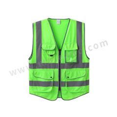 星华 高亮达标款多彩反光背心 120150 颜色:苹果绿  件