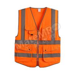 星华 高亮达标款多彩反光背心 120150 颜色:荧光橙  件