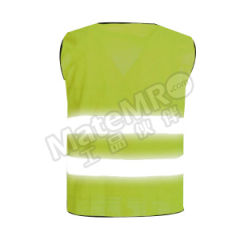星华 高亮达标款反光背心(拉链款) 120046L-2 颜色:荧光黄  件