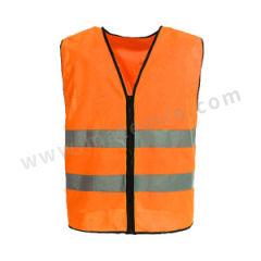 星华 高亮达标款反光背心(拉链款) 120046L-2 颜色:荧光橙  件