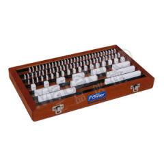 FOWLER 56件套陶瓷量块套装 53423117 标称长度系列:0.5 1.001~1.009 1.01~1.09 1.1~1.9 1~24 25~100mm 间隔:0.001 0.01 0.1 1 25mm 级别:1级  套