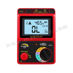 希玛仪表 数字兆欧表/电子摇表/绝缘电阻测试仪 AR907+ 电容测量:- 漏电流测量:-  台