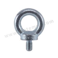 国产 高强度镀锌吊环 M10  个