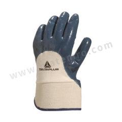 代尔塔 硫化棉丁腈3/4涂层手套 201170  副