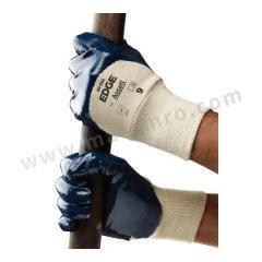 安思尔 经济款3/4浸丁腈橡胶涂层耐磨耐油手套 48501080  打