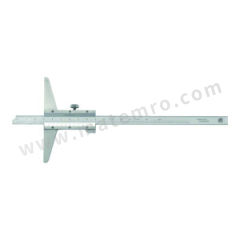 广陆 开式游标深度尺 151-116K 分度值:0.02mm 基座长度:150mm 精度:±0.07mm  把