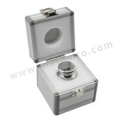 富月 不锈钢经典JF-1砝码 JFF11001-2kg 磁化率:0.0008~0.0005 极化率:F1≤25μT 材质:砝码钢 密度:8.0g/cm3 规格:2kg  盒