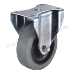科顺 防静电轮 5-8-459C 底板(插杆)规格:92×64mm 安装高度:200mm 脚轮材质:导电轮 轮径×轮宽:200×51mm 载重:270kg  个