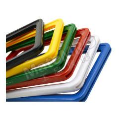 安赛瑞 强磁货架信息标识牌 13393 材质:ABS塑料材质  包