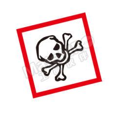 安赛瑞 GHS标签(有毒有害物) 39645  包