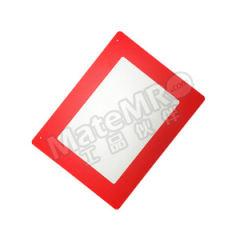 安赛瑞 悬挂式区域标识框(A3) 12053 材质:PVC材质  张