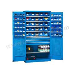位邦 挂板式储物柜 GD831302-P 颜色:整体蓝色RAL5012  台