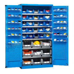 位邦 挂板式储物柜 GD832302-P 颜色:整体蓝色RAL5012  台