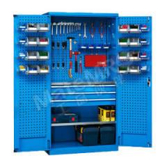 位邦 挂板式储物柜 GD831502-P 颜色:整体蓝色RAL5012  台