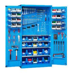 位邦 挂板式储物柜 GD831902-P 颜色:整体蓝色RAL5012  台