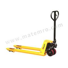 虎力 CT系列标准型手动液压搬运车 CT30S 脚轮材质:PU 车体颜色:黄色 货叉长度:1150mm  辆