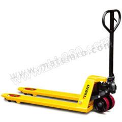 泰得力 手动托盘搬运车 CT20S 脚轮材质:PU 车体颜色:黄色 货叉长度:1150mm  辆