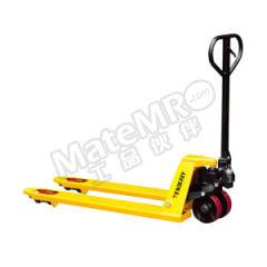 泰得力 手动托盘搬运车 CT20L 脚轮材质:PU 车体颜色:黄色 货叉长度:1220mm  辆
