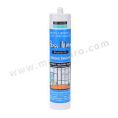 陶熙 建筑胶-中性硅酮玻璃与金属密封胶 GLASS METAL DOUBLE N 颜色:半透明色  支