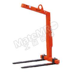虎力 CY系列平衡吊叉 CY30 货叉长度:1000mm 可调货叉宽度:450~900mm 货叉尺寸:120×50mm  个