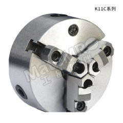 环球 直止口三爪自定心卡盘 K11240 盘体厚底:80mm 卡盘总厚度:120mm  台