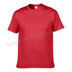 杰丹 短袖纯棉T恤 76000 颜色:红色  件