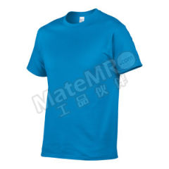 杰丹 短袖纯棉T恤 76000 颜色:宝石蓝  件