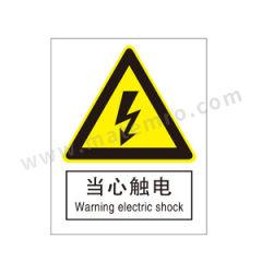 安赛瑞 GB安全标识(当心触电) 35101  张