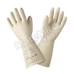霍尼韦尔 1级10KV乳胶绝缘手套 2091912 测试电压:10kV  副