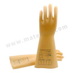 代尔塔 10KV乳胶绝缘手套 207002 测试电压:10kV  副