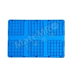 ZNKIA EU系列折叠周转箱 ZJEU604028W-2 颜色:蓝色 材质:PP(聚丙烯) 内径尺寸:560×360×265mm  个
