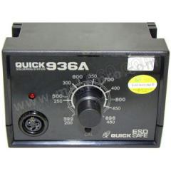 快克 ESD防静电控温电焊台 QUICK936E 温控精度:±1℃ 控温范围:200~480℃ 电压:220V  台
