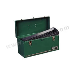 """世达 手提工具箱 SATA-95102 规格:17"""" 长度:428mm 宽度:177mm 高度:184mm 材质:钢板 颜色:绿色  只"""