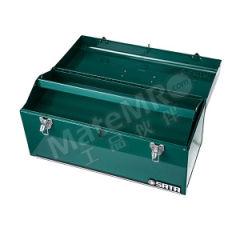 """世达 手提工具箱 SATA-95103A 规格:20"""" 长度:508mm 宽度:218mm 高度:243mm 材质:钢板 颜色:绿色  只"""