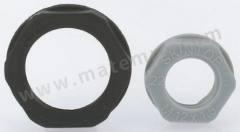 锁紧螺母 53119030 材料:玻璃纤维 PA 螺纹尺寸:M25 颜色:灰色 IP防护等级:IP68 最低工作温度:-20°C 最高工作温度:+100°C  包