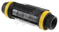 流量传感器 DFT.990.RS 最大流量:2 → 150 L/min 电气连接:电缆插头 控制输出:模拟 电源电压:24 V 直流 显示屏幕:LED 管直径范围:1 in  个
