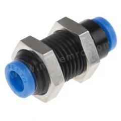 气动隔板管-管适配器 QSMS系列 QSMS-4 制造商系列:QSMS 类型:直向 管连接 A:推入式 4 mm 管连接 B:推入式 4 mm 主体材料:黄铜 螺纹材料:黄铜 加工:镀镍 最大操作压力:14 bar 管连接 B - 管尺寸:4mm 最高工作温度:+80°C 最低工作温度:-10°C 管连接 A- 类型:推入式 管连接 - 管尺寸:4mm 管连接 B - 类型:推入式 形状类型:直向  袋