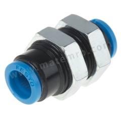 气动隔板管-管适配器 QSMS系列 QSMS-6 制造商系列:QSMS 类型:直向 管连接 A:推入式 6 mm 管连接 B:推入式 6 mm 主体材料:黄铜 螺纹材料:黄铜 加工:镀镍 最大操作压力:14 bar 管连接 B - 管尺寸:6mm 最高工作温度:+80°C 最低工作温度:-10°C 管连接 A- 类型:推入式 管连接 - 管尺寸:6mm 管连接 B - 类型:推入式 连接类型:管对管  袋