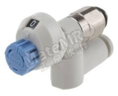 流量控制器 AS1311FS1-M5-04 最大流量:90 L/min 安装样式:面板安装 管直径范围:4 mm 最低工作温度:-5°C 最高工作温度:+60°C 系列:AS 使用于:航空用设备  个