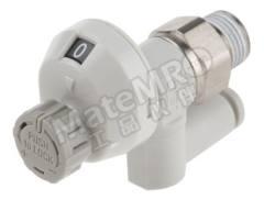 流量控制器 AS2301FS1-01-04S 最大流量:180 L/min 安装样式:面板安装 管直径范围:4 mm 最低工作温度:-5°C 最高工作温度:+60°C 系列:AS 使用于:航空用设备  个
