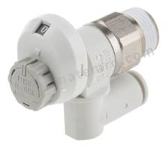 流量控制器 AS3301FS1-03-08S 最大流量:790 L/min 安装样式:面板安装 管直径范围:8 mm 最低工作温度:-5°C 最高工作温度:+60°C 系列:AS 使用于:航空用设备  个