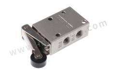 VM400 系列 滚轮杠杆 铝合金 气动手动控制阀 VM430-01-01 控制机制:滚轮杠杆 功能:3/2 连接口螺纹:Rc 1/8 螺纹尺寸:1/8in 螺纹标准:Rc 制造商系列:VM400 最大操作压力:1 MPa 主体材料:铝合金 最大流量:338.77NL/min 最低工作温度:-5°C 最高工作温度:+60°C 端口数目:3/2  个