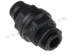 气动隔板管-管适配器 3116系列 3116 06 00 制造商系列:3116 类型:直向 管连接 A:推入式 6 mm 管连接 B:推入式 6 mm 加工:镀镍 最大操作压力:20 bar 管连接 B - 管尺寸:6mm 最高工作温度:+80°C 最低工作温度:-20°C 管连接 A- 类型:推入式 管连接 - 管尺寸:6mm 管连接 B - 类型:推入式 连接类型:管对管  包