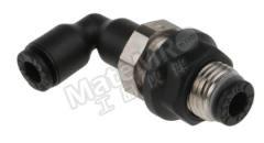 气动隔板管-管适配器 3139系列 3139 04 00 制造商系列:3139 类型:弯头 管连接 A:推入式 4 mm 管连接 B:推入式 4 mm 安装孔直径:10.5mm 最大操作压力:20 bar 管连接 B - 管尺寸:4mm 最高工作温度:+80°C 最低工作温度:-20°C 管连接 A- 类型:推入式 管连接 - 管尺寸:4mm 管连接 B - 类型:推入式 连接类型:管对管  包