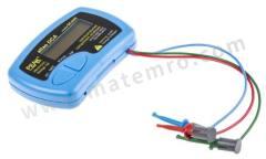 元件测试仪 DCA55 测试仪类型:元件 电池类型:GP23A 电源:电池 高度:20mm 长度:103mm 最高工作温度:+50°C 最低工作温度:0°C 宽度:70mm 型号(P):DCA55  个
